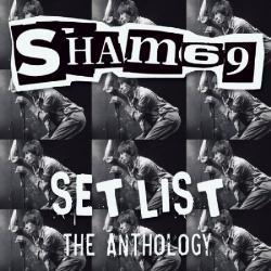 SHAM 69, set list - the anthology cover