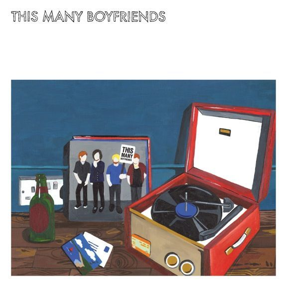 THIS MANY BOYFRIENDS, s/t cover