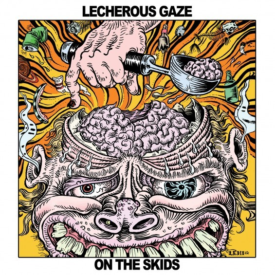 Cover LECHEROUS GAZE, on the skids