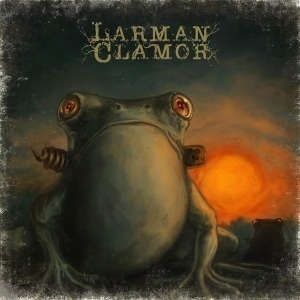 Cover LARMAN CLAMOR, frogs