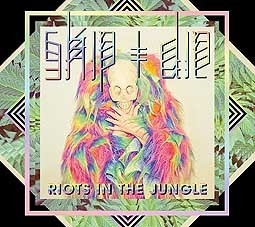 SKIP & DIE, riots in the jungle cover