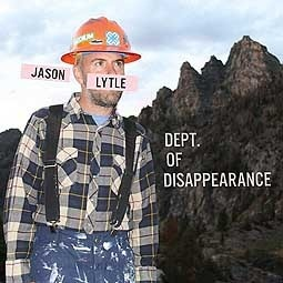 Cover JASON LYTLE, department of disappearance