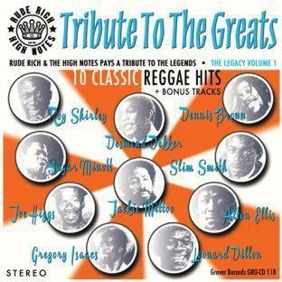 Cover RUDE RICH & HIGHNOTES, tribute to the greats