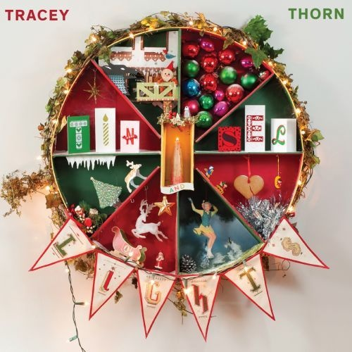 Cover TRACEY THORN, tinsel and lights