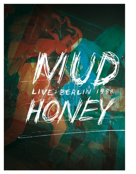 Cover MUDHONEY, live in berlin, 1988