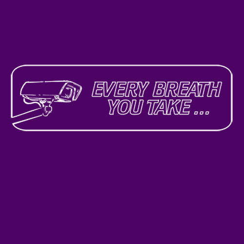 Cover RISOM, every breath you take (kapu), purple