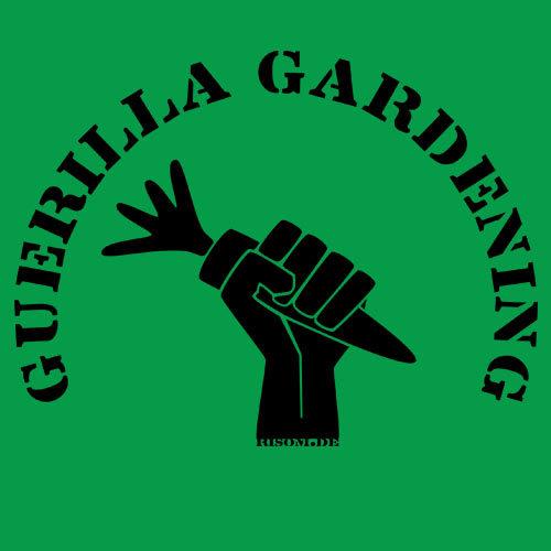 RISOM, guerilla gardening (kapu), kelly green cover