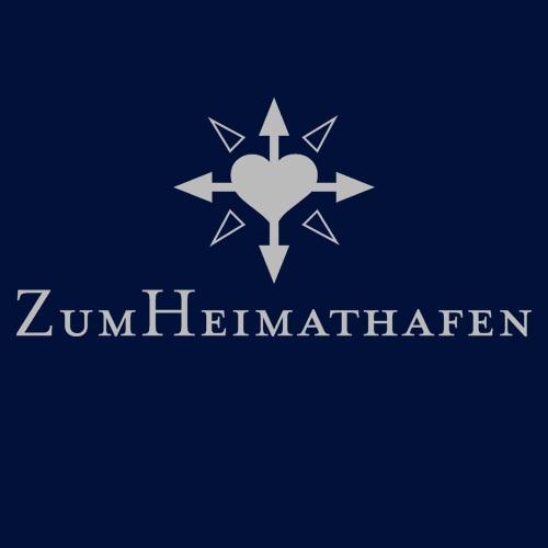 ZUM HEIMATHAFEN, logo (boy), navy cover