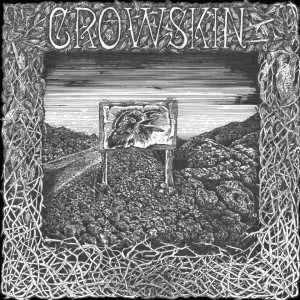 Cover CROWSKIN, black lava (discography)
