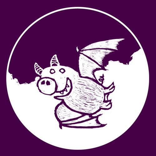 WILLEM KOLVOORT, pigbat (kapu), aubergine cover