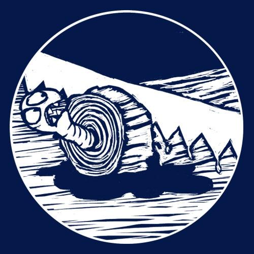 WILLEM KOLVOORT, giant treeworm (kapu), navy cover