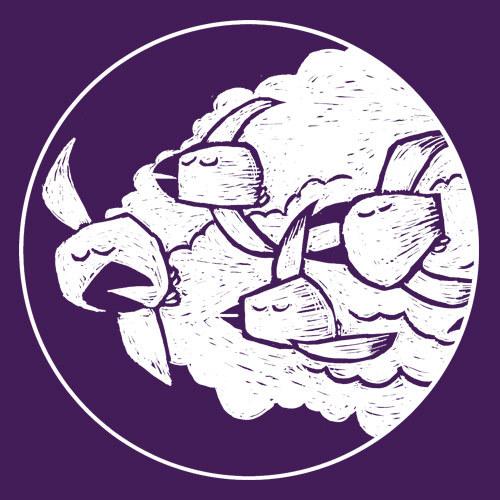 WILLEM KOLVOORT, migrating sleepcrows (boy), plum cover