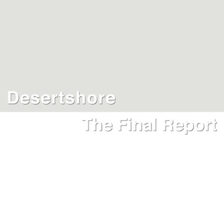 Cover X-TG, desertshore / the final report