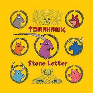 Cover TOMAHAWK, stone letter
