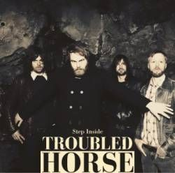 Cover TROUBLED HORSE, step inside