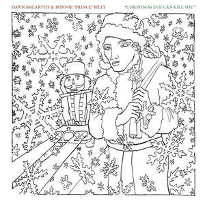 Cover BONNIE PRINCE BILLY & DAWN MCCARTHY, christmas eve ... (US-Version)