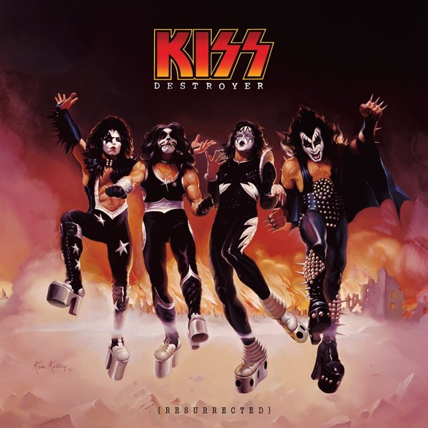 KISS, destroyer: resurrected cover