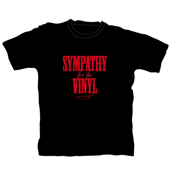 Cover VINYL SHIRT - ROCK ON WALL, sympathy_black