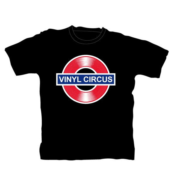 Cover VINYL SHIRT - ROCK ON WALL, circus_black