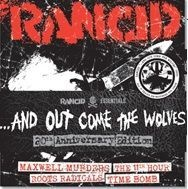 "RANCID, and out come the wolves 5x7"" set cover"