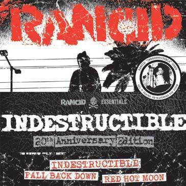 "RANCID, indestructible 6x7"" set cover"