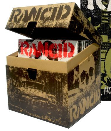 "Cover RANCID, rancid essentials 46x7"" box set"