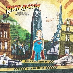 Cover RICH AUCOIN, we´re all dying to live