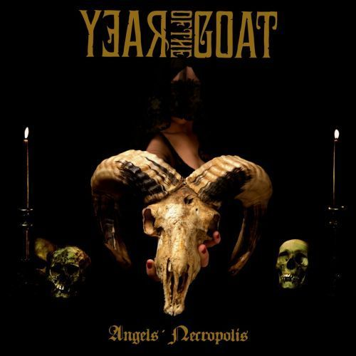 Cover YEAR OF THE GOAT, angel´s necropolis