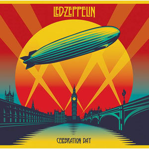 LED ZEPPELIN, celebration day cover