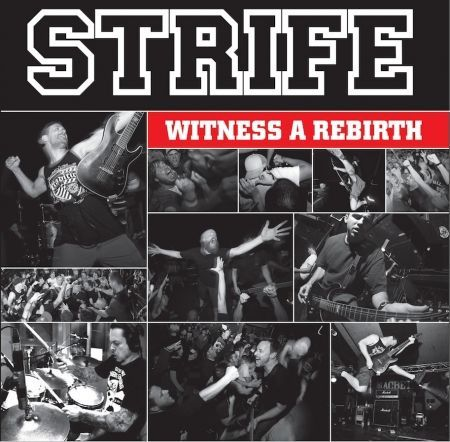 STRIFE, witness a rebirth cover
