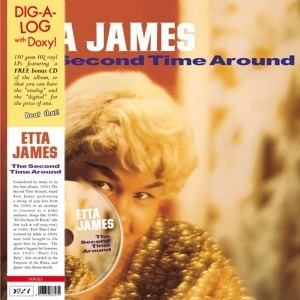 Cover ETTA JAMES, second time around