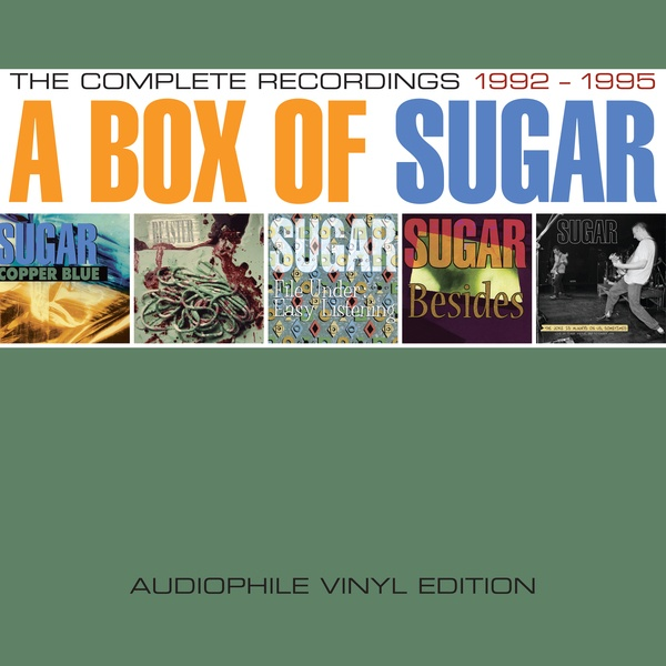 Cover SUGAR, a box of sugar