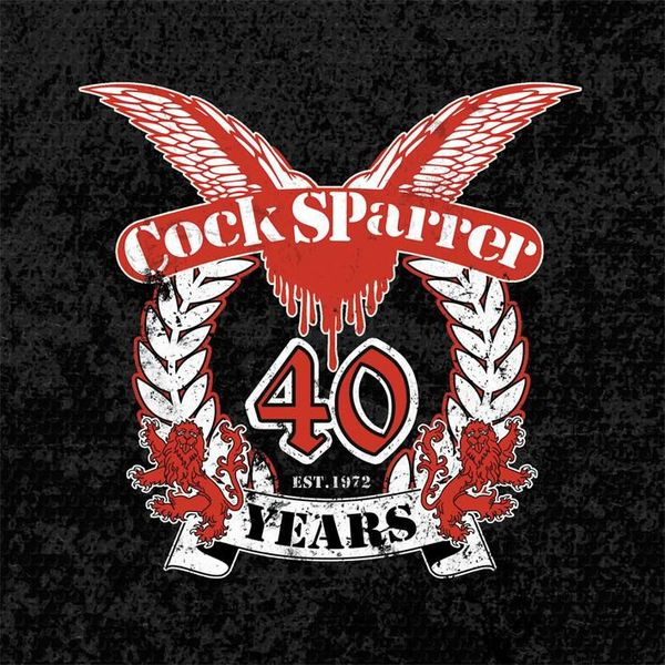 Cover COCK SPARRER, 40 years
