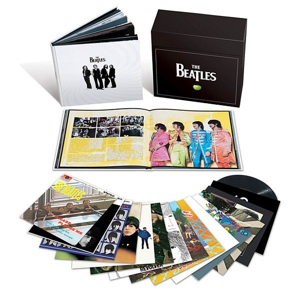 Cover BEATLES, vinyl box set (stereo)
