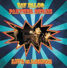 Cover TAV FALCO & PANTHER BURNS, live in london