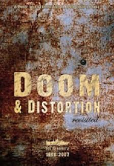 Cover V/A, doom & distortion - a punk to extreme metal compil
