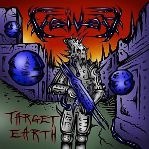 Cover VOIVOD, target earth