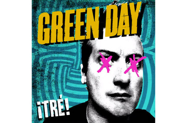 Cover GREEN DAY, tre!