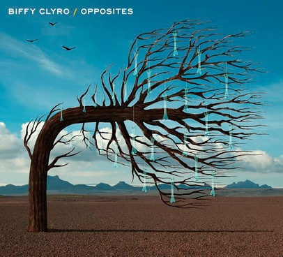 BIFFY CLYRO, opposites cover