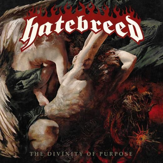 HATEBREED, divinity of purpose cover