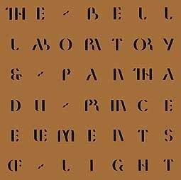Cover PANTHA DU PRINCE & BELL LABORATORY, elements of light