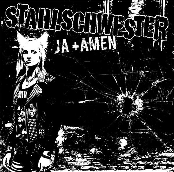 STAHLSCHWESTER, ja + amen cover