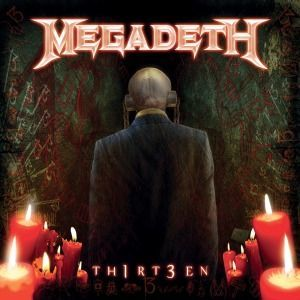 Cover MEGADETH, th1rt3en