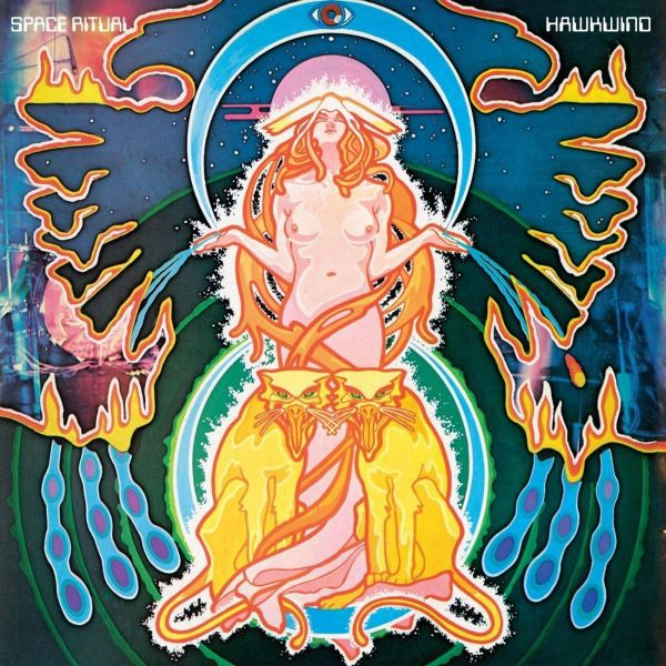 Cover HAWKWIND, the space ritual alive in london and liverpool