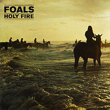 Cover FOALS, holy fire