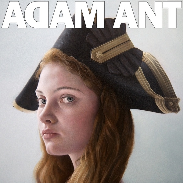 Cover ADAM ANT, is the black husar ...