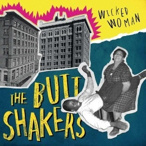 Cover BUTTSHAKERS, wicked woman