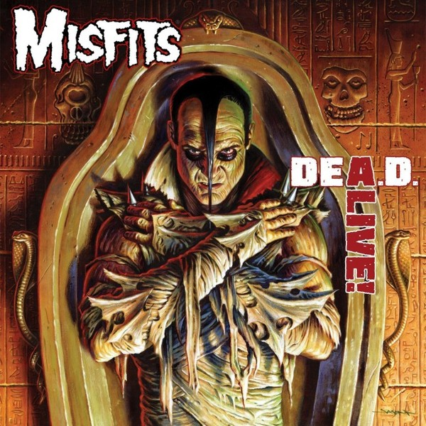 MISFITS, dead alive! cover