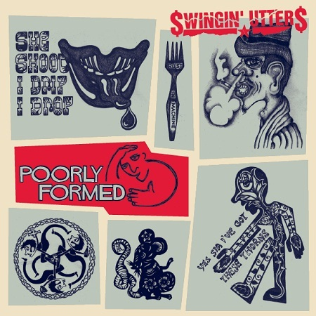 SWINGIN´ UTTERS, poorly formed cover