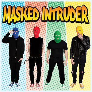 Cover MASKED INTRUDER, s/t